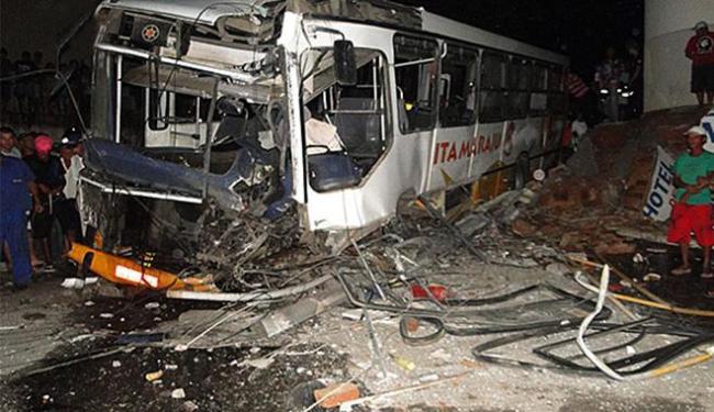 Motorista morreu no Hospital Geral da cidade - Foto: Danuse Luiza | Itamaraju Notícias