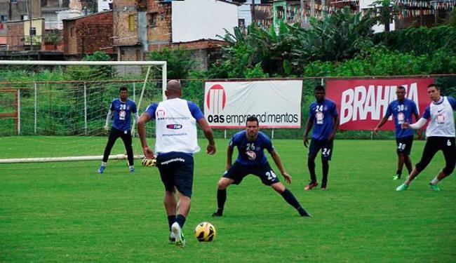 Jogadores participam de recreativo antes da partida contra o timão - Foto: Divulgação | EC Bahia
