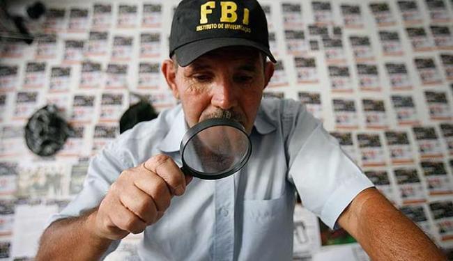 José Pedro é um dos 180 detetives da agência FBI de Feira - Foto: Luiz Tito | Ag. A TARDE