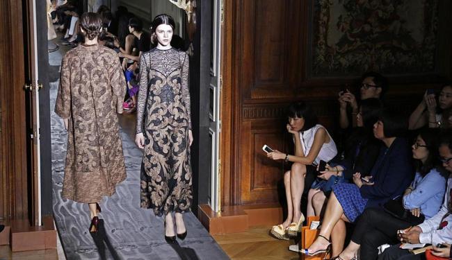 Desfile da coleção de Pierpaolo Piccioli e Maria Grazia Chiuri - Foto: Agência Reuters