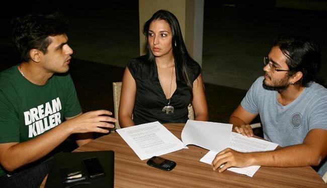 Adail Rocha Filho (E), Priscila Amoedo e Tiago Andrade recorrem à Justiça por vagas - Foto: Fernando Amorim | Ag. A TARDE
