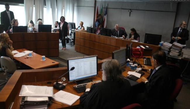 Sessão aconteceu sem a presença de Marcelo Guimarães Filho no Tribunal de Justiça da Bahia, no CAB - Foto: Edilson Lima | Ag. A TARDE