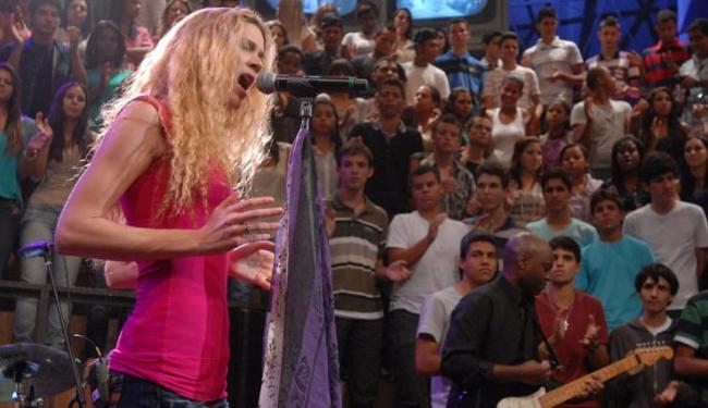 A cantora inglesa Joss Stone volta ao Brasil para apresentação exclusiva em Salvador - Foto: Rede Globo / Zé Paulo Cardeal