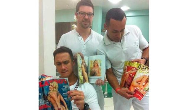 Equipe de Antonia Fontenelle vê as fotos da quarentona na Playboy - Foto: Reprodução | Instagram