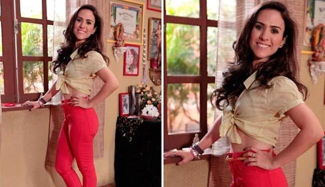 Valdirene vai realizar o desejo da mãe, Márcia, e engravidar nos próximos capítulos da novela - Foto: TV Globo   Divulgação
