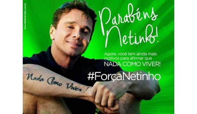 Produção de Netinho colocou imagem no perfil oficial do cantor, no Facebook - Foto: Reprodução   Netinho