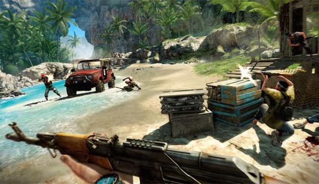 Far Cry 3 tem belos gráificos e foi um dos destaques de 2012 - Foto: Divulgação
