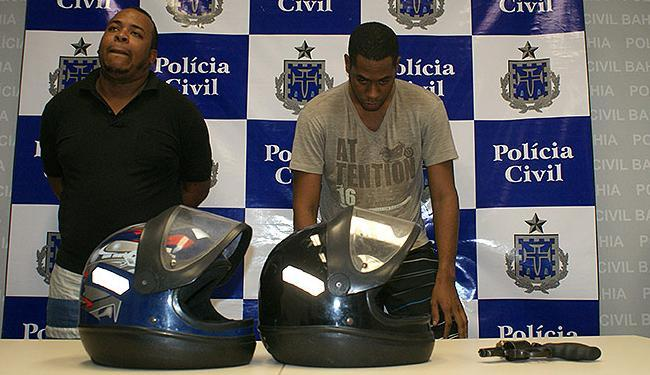 Patrimônio familiar de Peterson Pereira (à direita) é estimado em R$ 2 milhões, diz delegado - Foto: Divulgação l Polícia Civil