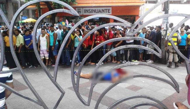 Crime aconteceu no dia 8 de maio - Foto: Aníbal Ribeiro | Foto do leitor | Ag. A TARDE