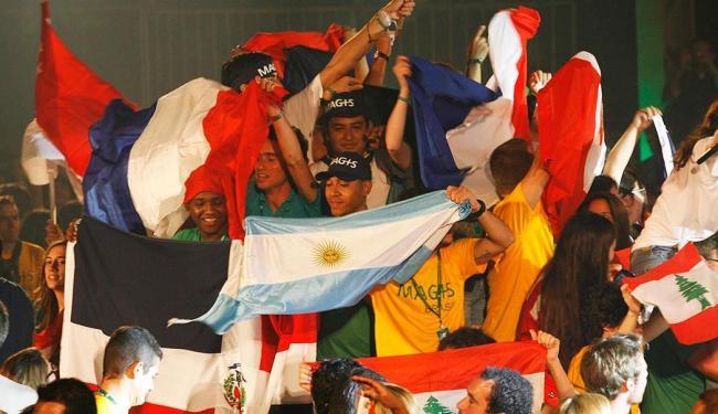 Participantes confraternizaram no Colégio Antônio Vieira, no Garcia - Foto: Margarida Neide | Ag. A TARDE