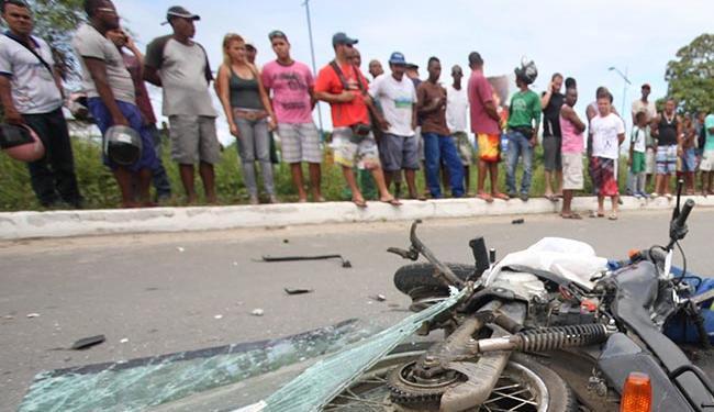 Acidente ocorreu, por volta das 11h deste sábado, no Jardim das Margaridas - Foto: Biel Fagundes | Agência Estado