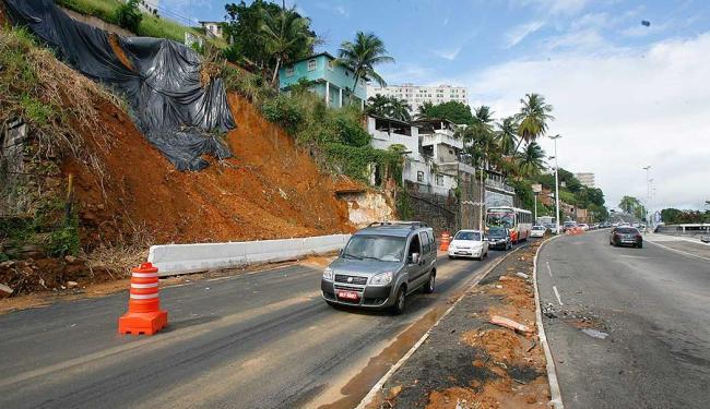 Região sofre risco de novos deslizamentos - Foto: Joá Souza | Ag. A TARDE