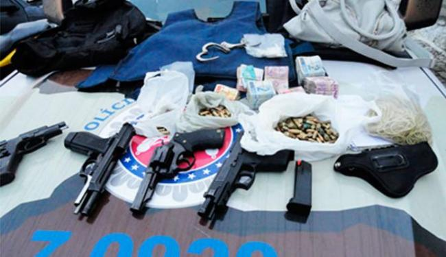 Material foi levado para o Distrito Integrado de Segurança Pública (DISEP) - Foto: Divulgação | Polícia Militar