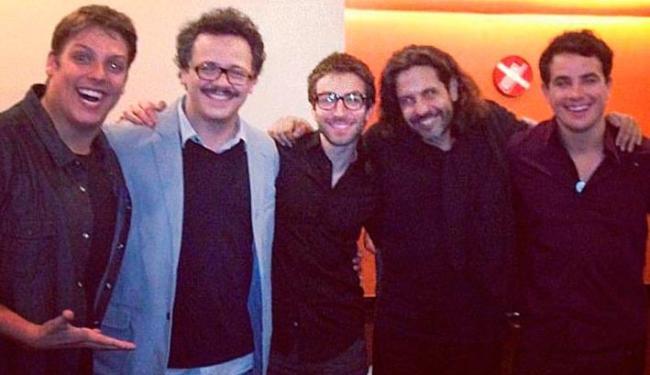 Fábio Porchat posta foto com elenco em pré-estreia de O Concurso - Foto: Instagram | Reprodução