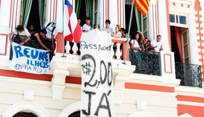 A ocupação foi realizada por integrantes do Movimento Reúne Ilhéus - Foto: Divulgação