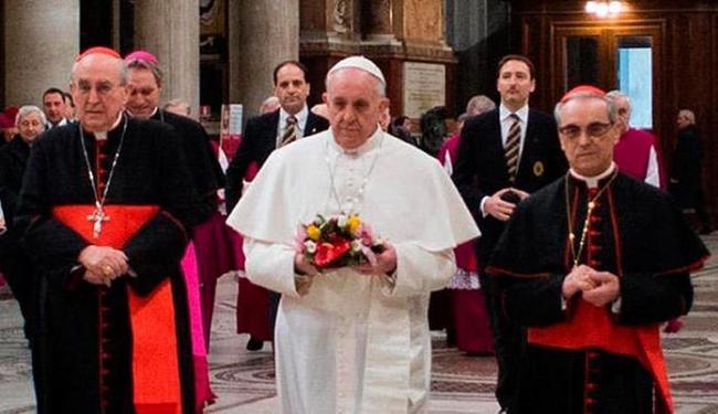 O porta-voz anunciou que o Papa Francisco