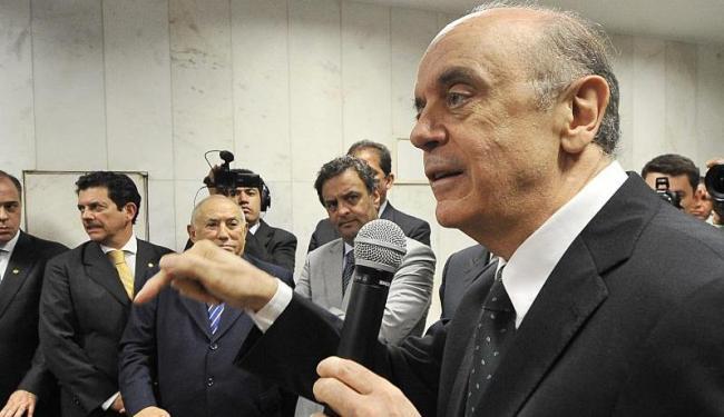 O ex-governador paulista recebeu do PSDB sinais de que só há espaço para ele em 2014 - Foto: Agência Brasil