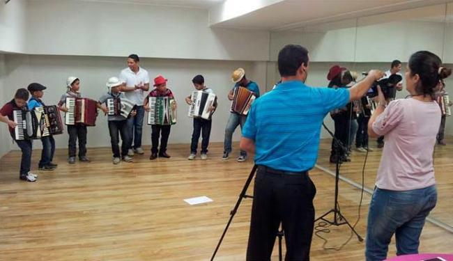 Targino vai participar com as crianças da orquestra sanfônica mirim - Foto: Divulgação