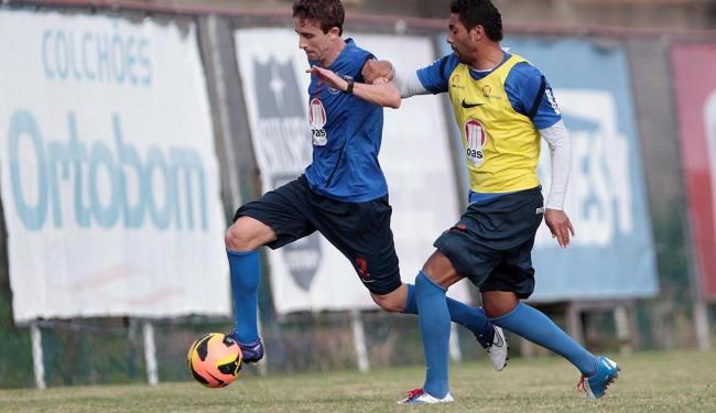 Elenco treinou nesta sexta sem nenhum jogador no Departamento Médico - Foto: Eduardo Martins | Ag. A TARDE