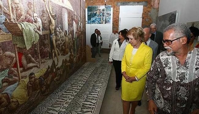 Marta Suplicy em visita ao Muncab - Foto: Fernando Amorim | Ag. A TARDE