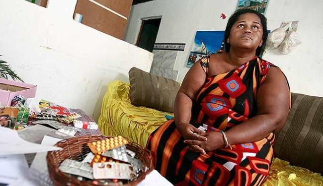 Maria Lúcia, conhecida como Nem Gorda, está em prisõ domiciliar - Foto: Diego Mascarenhas | Ag. A TARDE