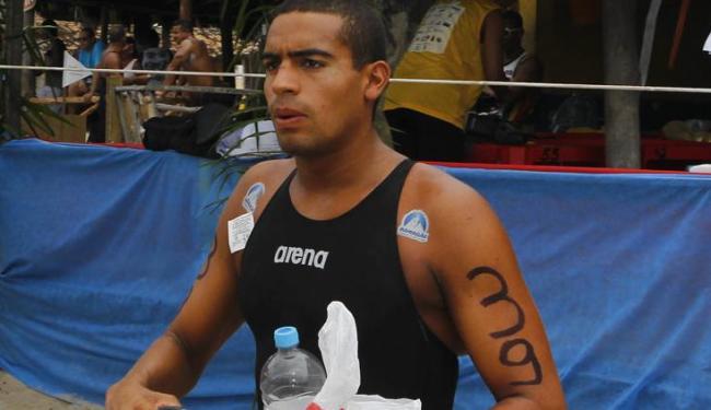 Atleta baiano alcançou o seu objetivo que era ficar entre os 10 primeiros na prova - Foto: Adilton Venegeroles / Ag. A TARDE