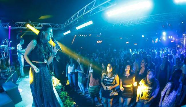 Ju Moraes tem recebido um grande público nos ensaios de inverno - Foto: Divulgação