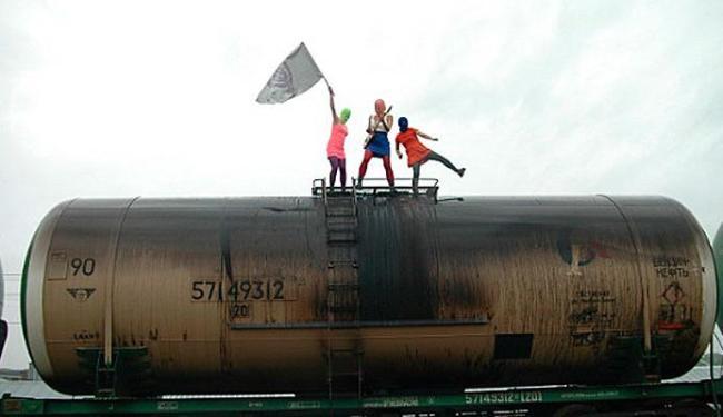 Trio foi preso pelo governo russo - Foto: Divulgação