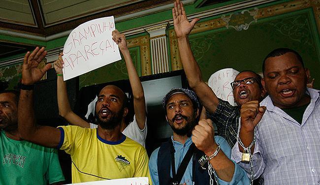 Movimento Passe Livre durante ocupação da Câmara Municipal de Salvador - Foto: Margarida Neide | Ag. A TARDE
