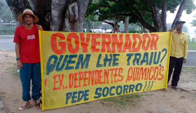 Manifestantes pedem repasse de verba para entidade - Foto: Edilson Lima   Ag. A TARDE