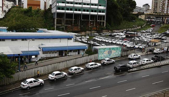 Vistoria acontece na Gerência de Táxi, no Vale dos Barris - Foto: Fernando Vivas | Arquivo | Ag. A TARDE