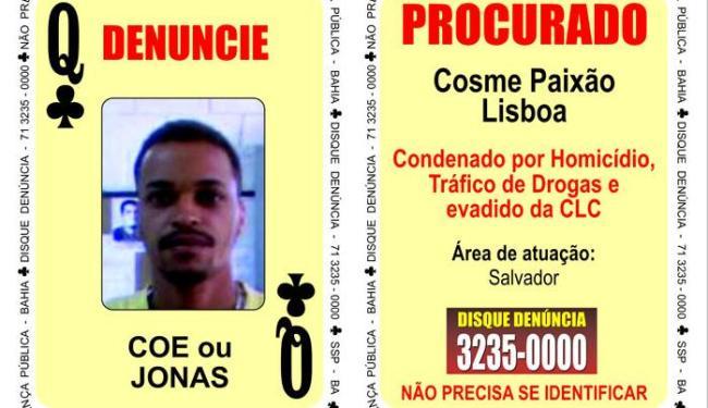 Jonas é suspeito de homicídio e trafico de drogas - Foto: Divulgação | Polícia Civil