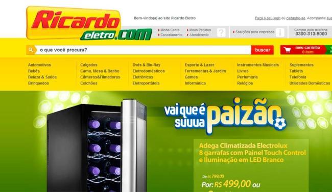 Justiça do Rio de Janeiro determinou a suspensão das vendas pela internet da companhia - Foto: Reprodução