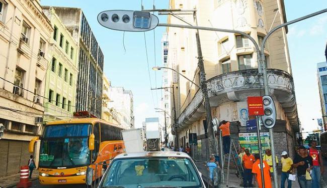 Na Rua Chile, sentido será invertido no trecho entre a Rua Padre Vieira e a Praça Municipal - Foto: Valter Pontes | AGECOM