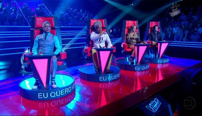 Lulu, Brown, Claudia e Daniel voltam como jurados do The Voice - Foto: Divulgação