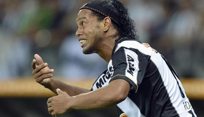 Ronaldinho faz boa atuação - Foto: Agência Reuters