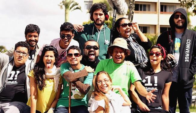 Equipe da +1! Filmes, principal produtora de webséries de humor - Foto: Divulgação