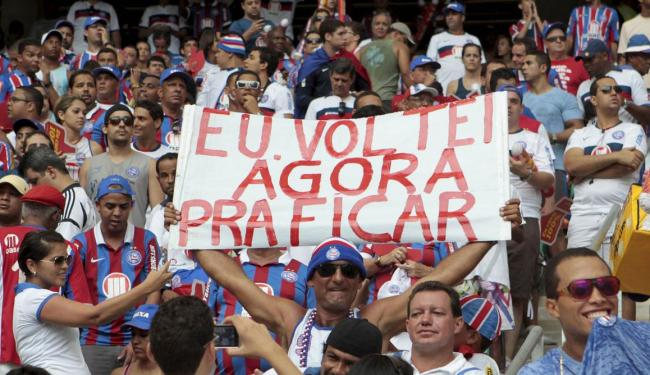 Torcedor aderiu ao novo plano e clube amplia o número de associados - Foto: Eduardo Martins | Ag. A TARDE