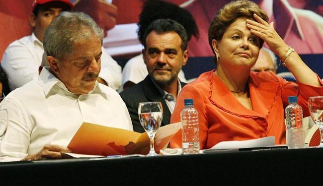 Lula e Dilma estão contrariados com o racha no PT e com o corte de ministérios proposto por Alves - Foto: Margarida Neide | Ag. A TARDE