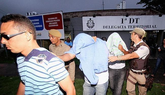 Os PMs envolvidos no caso foram ouvidos na 1ª Delegacia Territorial, nos Barris - Foto: Diego Mascarenhas | Ag. A TARDE