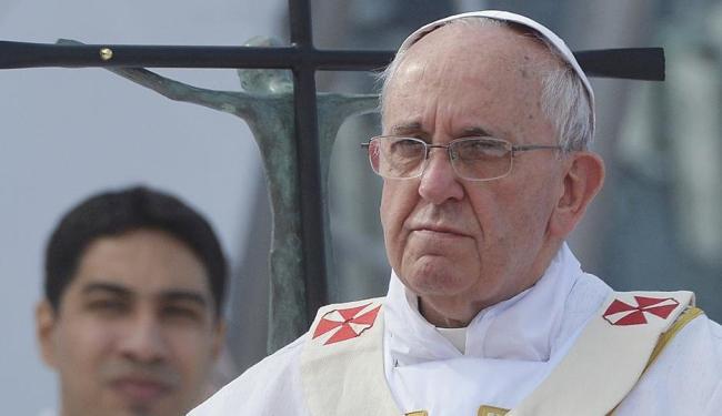 Papa foi cuidadoso com análise sobre manifestações de jovens no Brasil - Foto: Agência Reuters