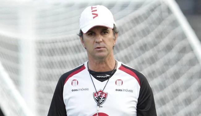 Técnico do Vitória achou que juiz exagerou nos acréscimos no jogo contra o Coritiba - Foto: Eduardo Martins | Ag. A Tarde