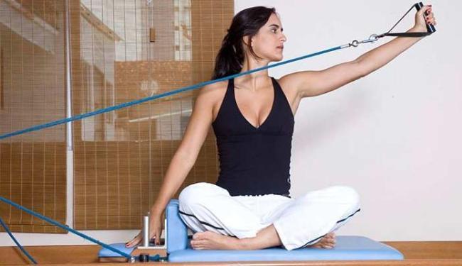 Pilates se adequa às necessidades do paciente - Foto: Núcleo do Movimento   Divulgação