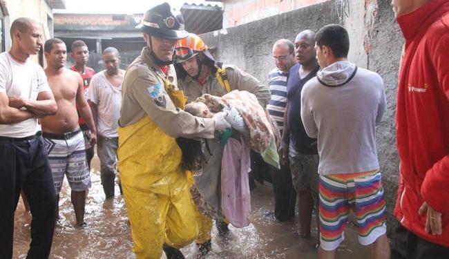 A criança engoliu muita água e chegou a receber massagem cardíaca, mas não resistiu - Foto: Jadson Marques | Agência Estado