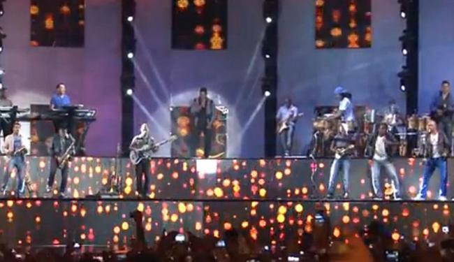 Gravação do DVD dos 20 anos da banda - Foto: Reprodução   Youtube