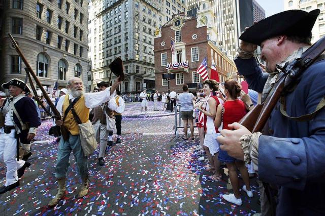 США отпраздновали День Независимости Общество Фотогалерея Но…