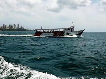 viagem até Mar Grande dura em média 40 minutos e a tarifa nos dias de domingo é de R$ 5,60 - Foto: Divulgação