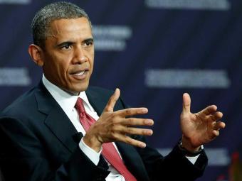 Obama pretende passar a maior parte do dia no retiro presidencial de Camp David - Foto: Agência Reuters