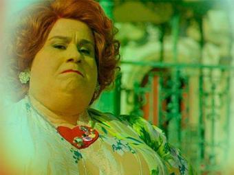 De tão gorda, Redonda voa e explode no 'visionismo' de Gibão - Foto: TV Globo   Divulgação