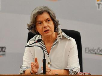 Presidente do Tribunal Superior Eleitoral (TSE), ministra Carmén Lúcia - Foto: Antonio Cruz | Agência Brasil